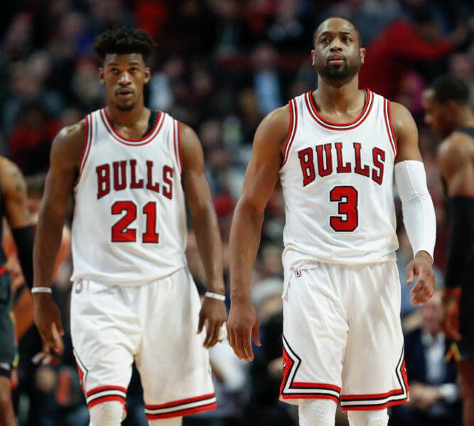 Bulls teammates Jimmy Butler and Dwyane Wade take selfie in Paris = Despite the recent trade rumors surrounding Chicago Bulls small forward Jimmy Butler, it appears as though the All-Star swingman couldn't be any less concerned at the moment. While.....