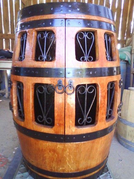 M s de 25 ideas incre bles sobre barriles de madera en for Catalogo muebles boj