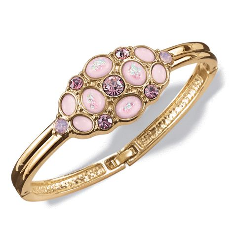You will love this product from Avon: Lavender Petals Cluster Bangle reg.  $19.99
