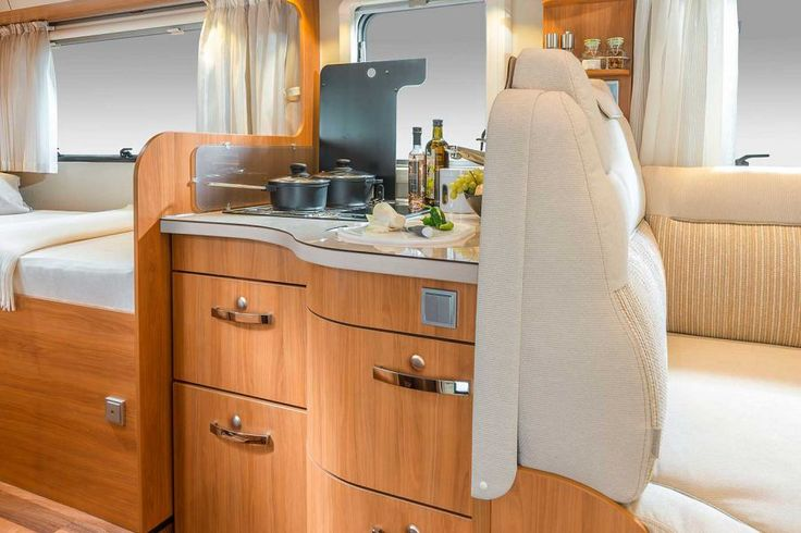 HYMER T-Class CL - work surface - kitchen - motorhomes - semi-integrated