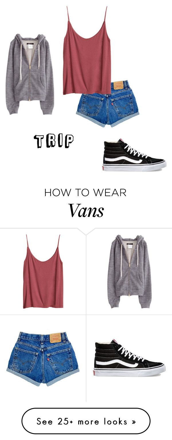 """random #11"" by samanthak-24 on Polyvore featuring Vans and H&M"