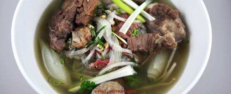 Pho bo, het nationale gerecht van Vietnam (foto: Pho Vietnam © Kim Le Cao)