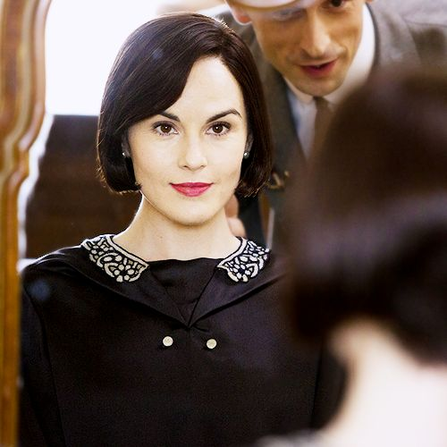 "Mary Crawley 5.06  ""Have you seen the boy's haircuts the women are wearing in Paris?"""