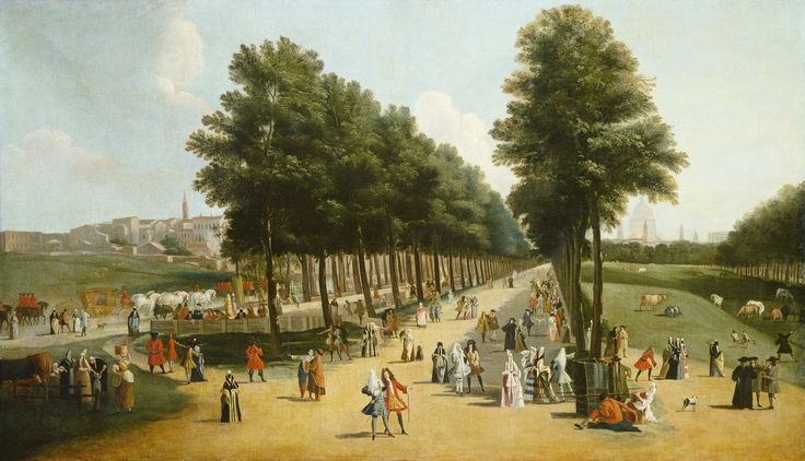 after Marco Ricci, 'View of the Mall in Saint James's Park,' after 1709-1710, National Gallery of Art, Washington D.C.