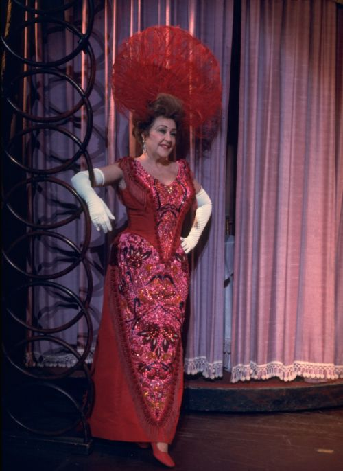 OperaQueen - Ethel Merman, Hello Dolly!  Broadway, 1970.
