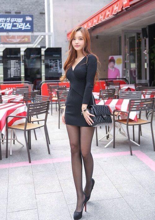 Asian Girl Mini Skirt Images, Stock Photos Vectors