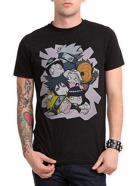 Naruto Shippuden Mega Glomp T-Shirt | Hot Topic