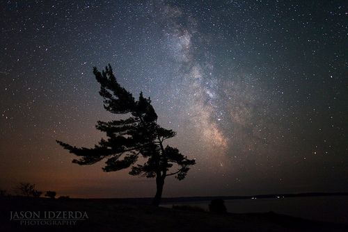 Stargazing in Muskoka, Canada by Jason Idzerda