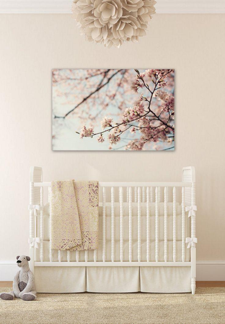 Cherry Blossom Canvas | wanderlustography on Etsy