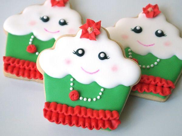 Cupcakes flamencos