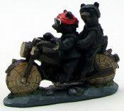 Bear Motorcycle Couple