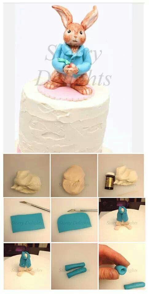 Peter Rabbit Cake Tutorial