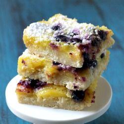 Lemon Blueberry Bars with Coconut Crust.: Desserts, Food, Sweet Treats, Recipes, Lemon Blueberries Bar, Phemm Phoodi, Gluten Free, Coconut Crusts, Lemon Blueberry Bars