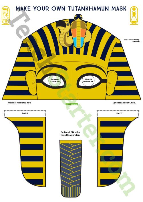 king tut mask template - 268 best history teaching resources images on pinterest