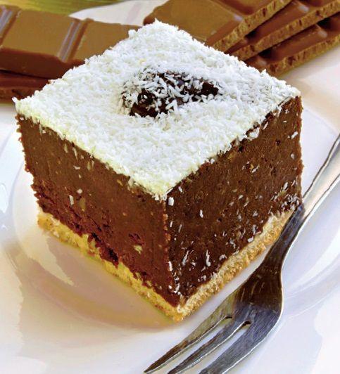 Vrei un desert simplu și rapid? Încearcă prăjitura de ciocolată cu biscuiţi, FĂRĂ COACERE | Retete