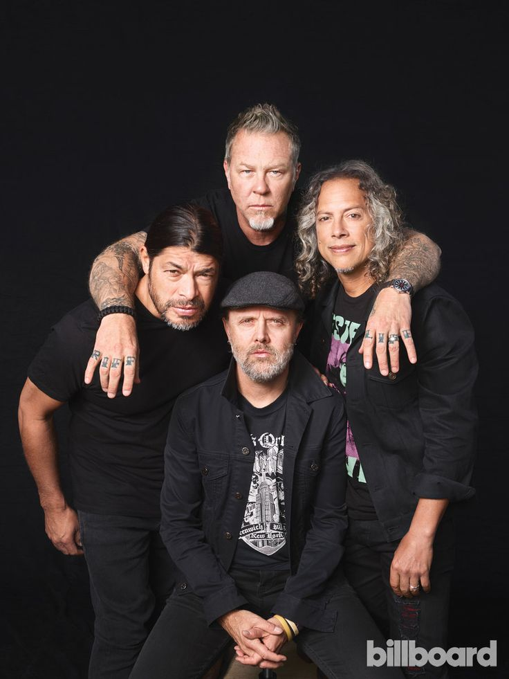 Metallica: Photos From The Billboard Cover Shoot | Billboard