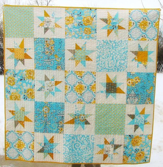 72 best wonky star quilt images on Pinterest | Star quilts, Stars ... : crazy star quilt pattern - Adamdwight.com
