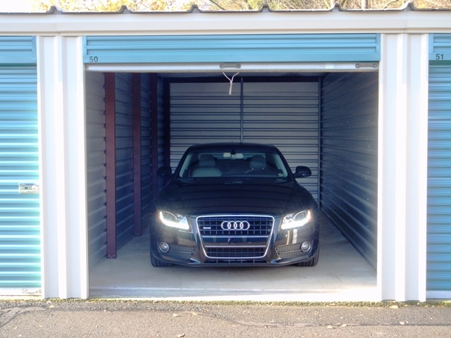 Image result for vehicle in a self-storage unit