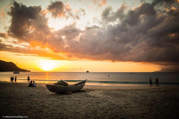 Sunset @ Beau Vallon, Mahé, Seychelles