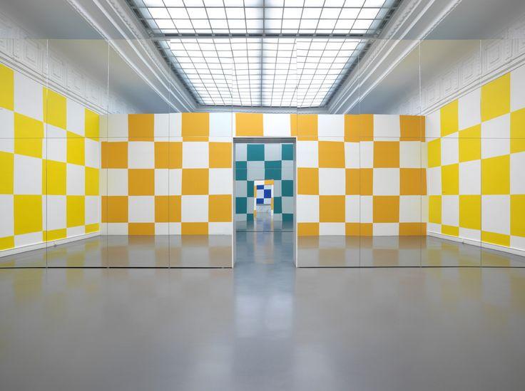 Work in situ, Daniel Buren Allegro Vivace, Staatliche Kunsthalle Baden-Baden | Daniel Buren | Artists | Lisson Gallery
