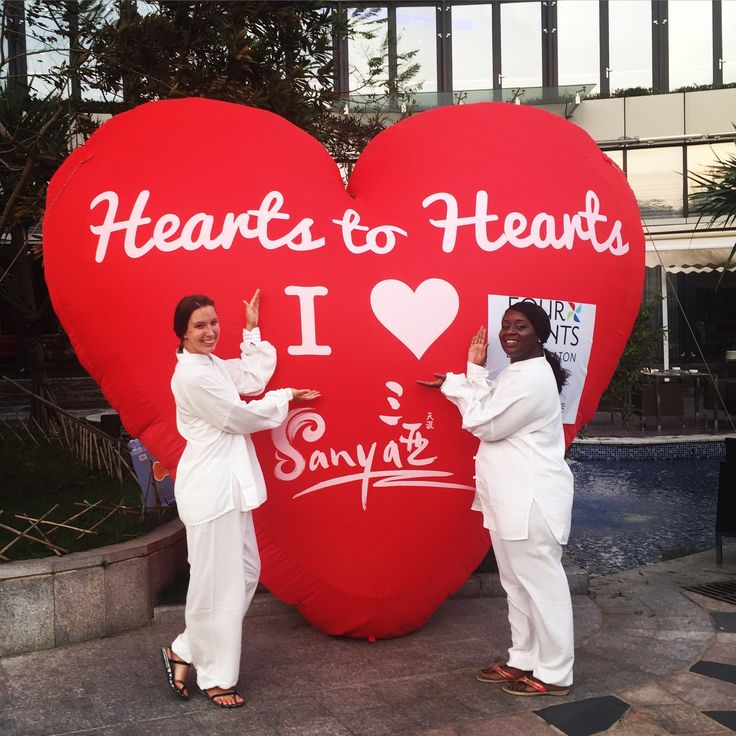 We are just loving it here! Great 1st day in Sanya, China!  @visit_sanya #bigheartballoon #sanyaheartstohearts #visitsanya #sanya #visitchina #china #live #heart #liveit #travel #competition #travelgram #travelblog #travelblogger #girlslovetravel #wanderlust #red #roomie #sheraton #fourpoints #fourpointsbysheraton #spg