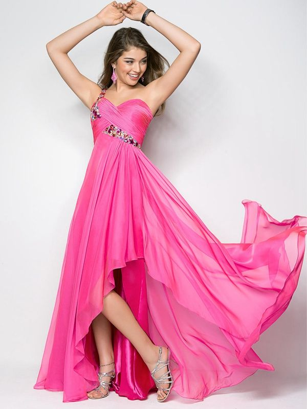 30 best High-Low Prom Dresses images on Pinterest | Party wear ...