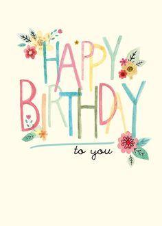 feliz cumpleaños pinterest vintage - Buscar con Google