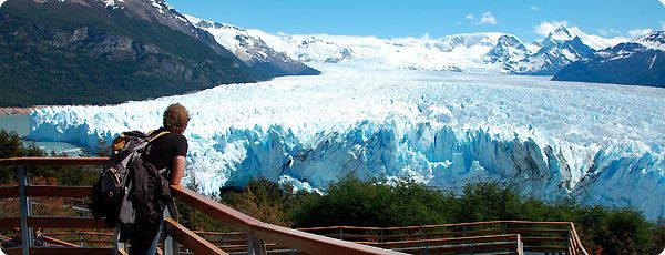 The City of El Calafate is the access point for Los Glaciares National Park