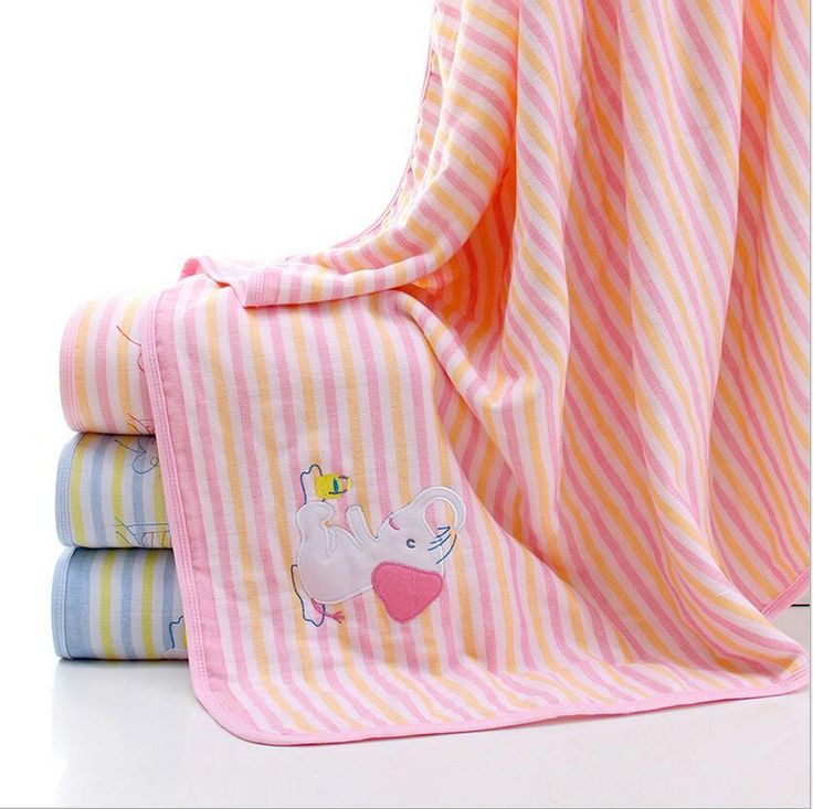 Striple Cotton Summer Beach Towel&Wrap Absorbent Summer Swimming Towels For Children Cotton Toallas Striple Beach Towel