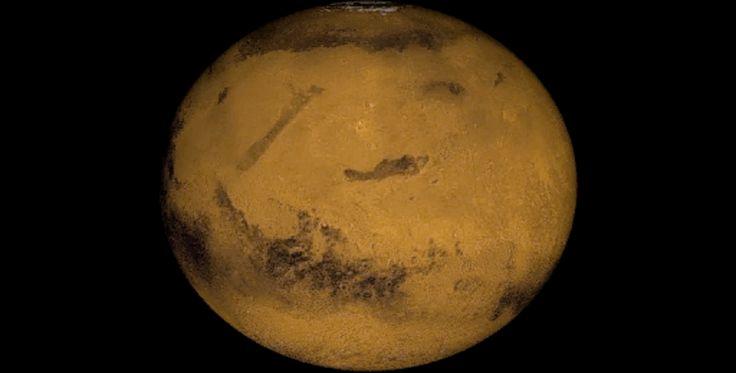 Uma perspetiva de Marte