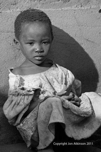 Young girl contemplates life, Tanzania
