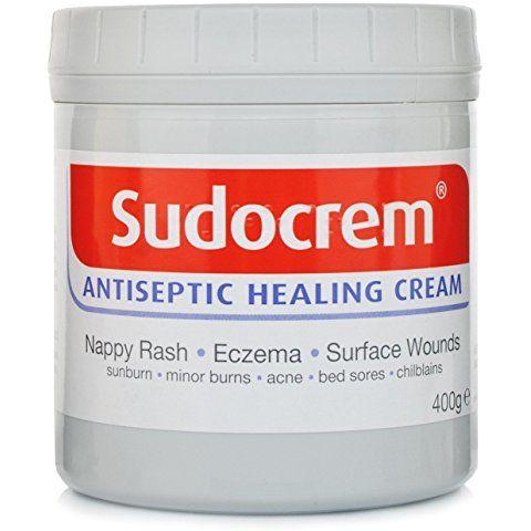 SUDOCREM ANTISEPTIC CREAM 400g NAPPY RASH, ECZEMA
