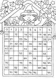Resultado de imagem para castillo de numeros del 0 al 99