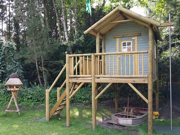 Superb Stelzenhaus Persson XL f r den Garten vom Kunden Laura S aufgebaut Bild
