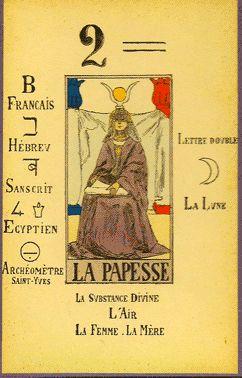 L'HISTOIRE DE LA PAPESSE