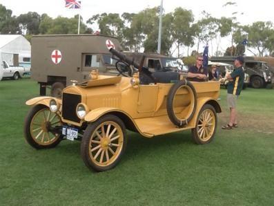 desert-vehicles.org | 1917, Fordt T of the 1st. Australian LCP
