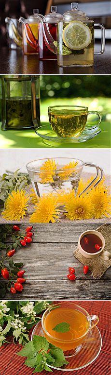 (+1) тема - Девять чаев, помогающих похудеть   Диеты со всего света