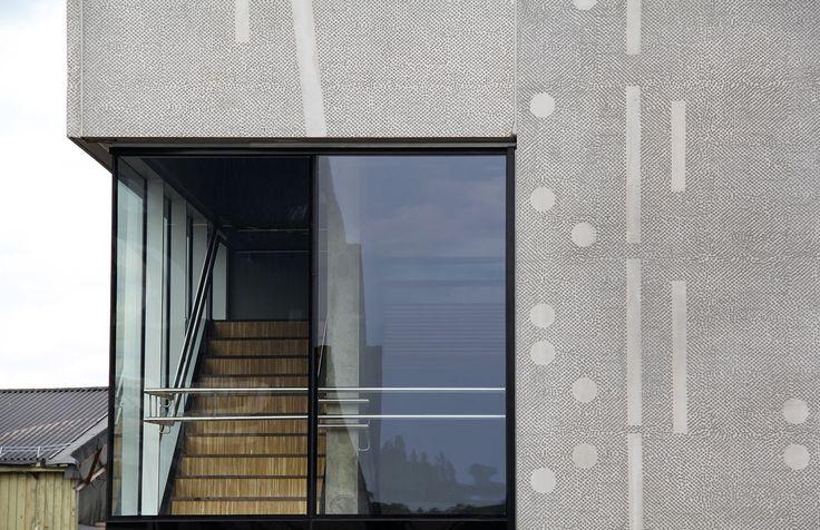 Oslo Havn, Norway 2013 (harbor). Architect: NAV A.S Architects, design/graphics: Siri Klokk / NAV A.S Architects, prefabrication: Contiga AS.