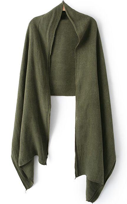 Bufanda clásica-verde 9.63