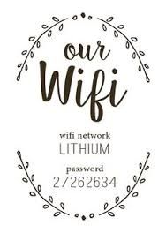 Image result for welcome the wifi password is template