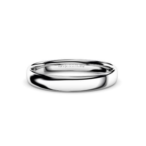 Women's Classic White Gold Wedding Ring – 3mm