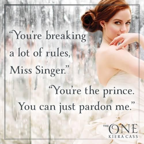 """""""You're the prince. You can just pardon me."""" Love this new sass..."""