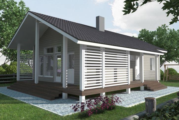 Avara ja moneen sopiva – Heinäsaari: 71 m², 2 makuuhuonetta