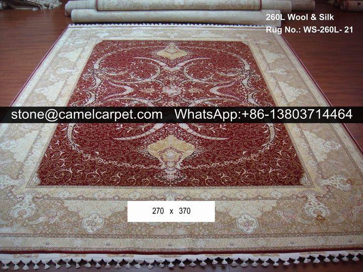 260L wool silk mixed carpet,100% handmade  #Ghom #Qom #Teppich #Rug #Carpet #Tapis #Tapijt #Tappeto #Alfombra #Textiles #HandMade #Iran #Persian #Iranian #Deutschland #Germany #Contemporary #Art #Home #Love #Fashion #Floor #Wall #Interior #Design #Classic #Architecture #Geometry #Paisley #Decor