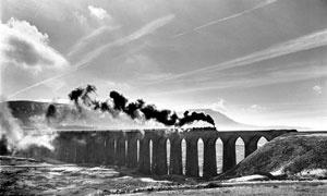 Ribblehead viaduct, Settle to Carlisle Railway.