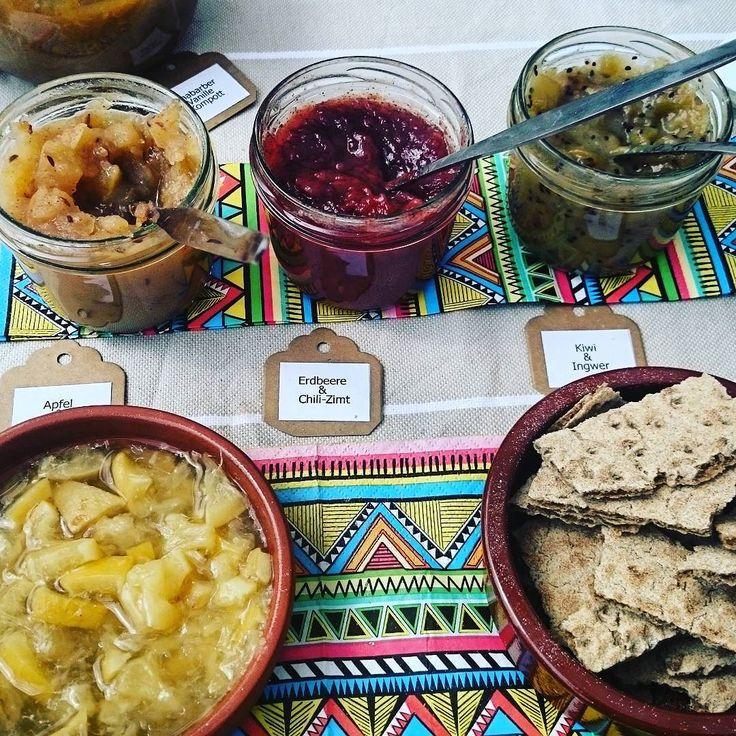 Chutneys and more by @ehren_manufaktur!  #gutesleben #ehrenfeld #healthyeating #chutneys #freshfood #localfood #sundayfunday #sundayvibes #tastyfood #lecker #instafood #snacks