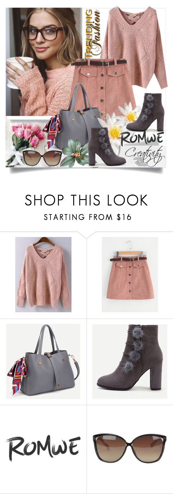 """""""ROMWE II/4"""" by creativity30 ❤ liked on Polyvore featuring Dukes, Linda Farrow and romwe"""