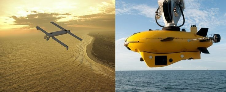 First Launch Of Unmanned UAV From UUV via @aeroaustralia