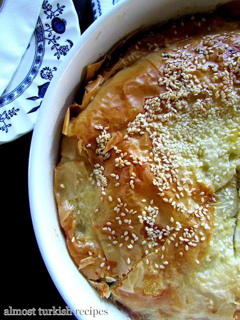 107 best i love turkish food images on pinterest jewish recipes almost turkish recipes easy phyllo pie kolay peynirli brek forumfinder Choice Image