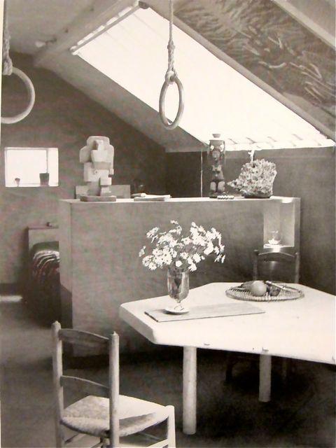 charlotte perriand's apartment, ca. 1938